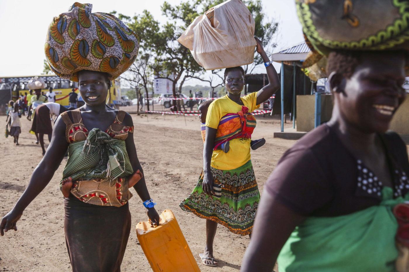 Imvepi Refugee camp in Northern Uganda