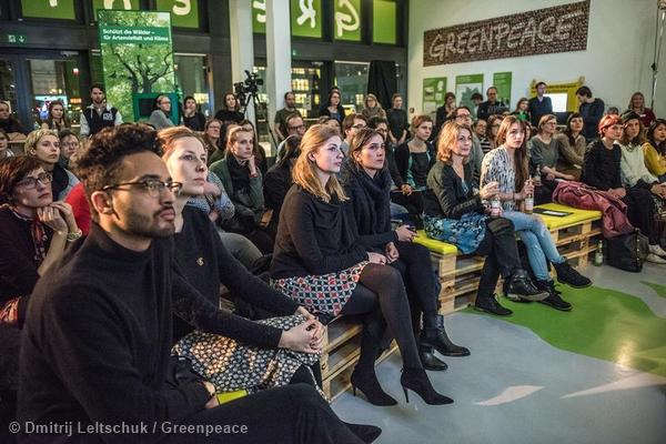 "Experts Talk About ""The Future of Fashion"" in HamburgExpertentalk bei Greenpeace zur Zukunft der Mode"