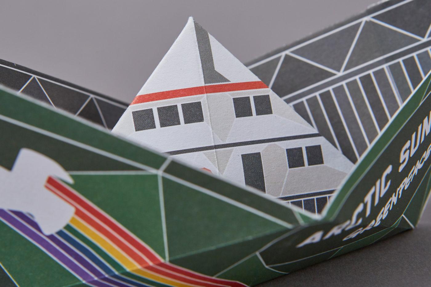 Origami Greenpeace