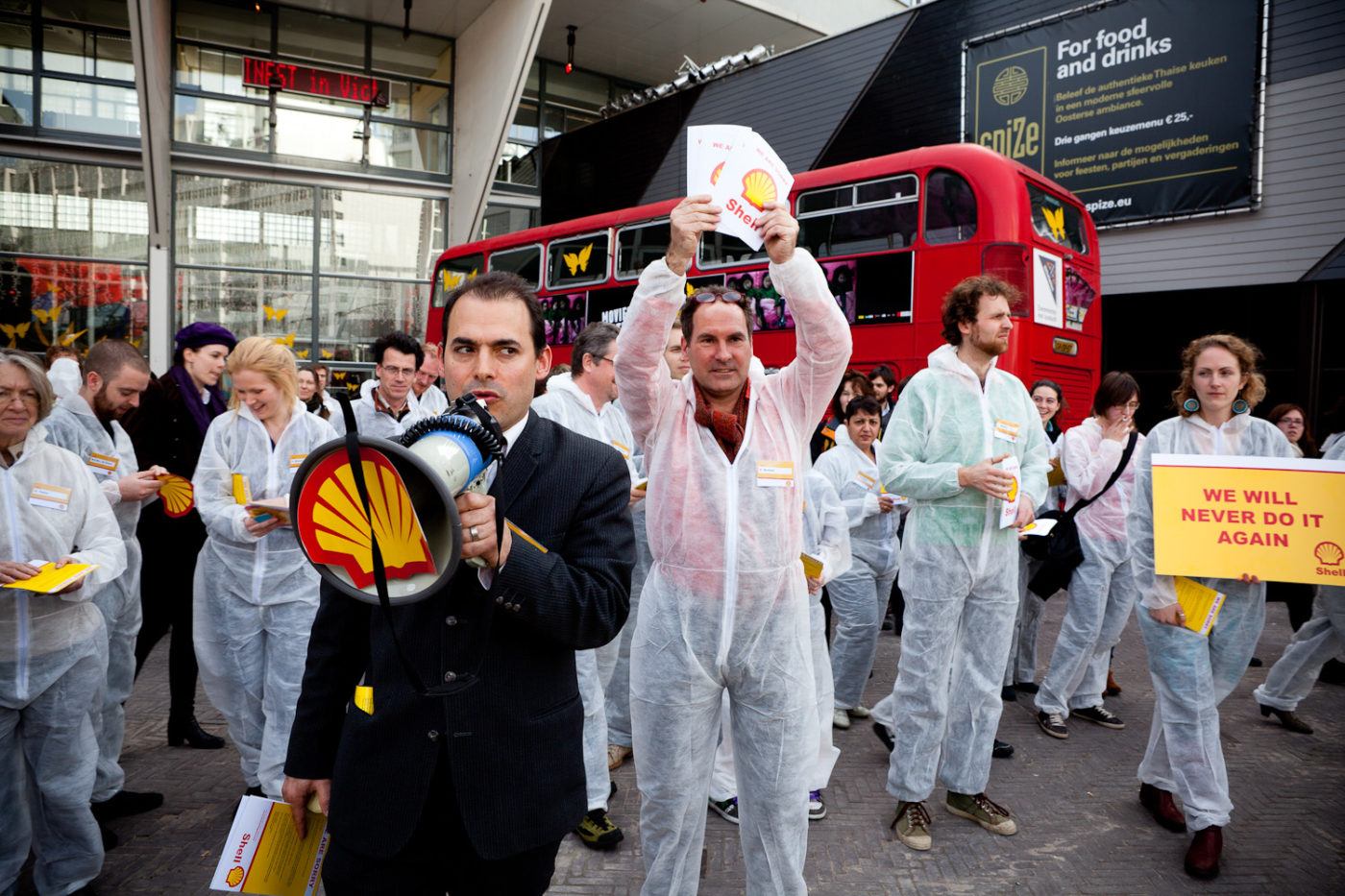 Protesting Shell