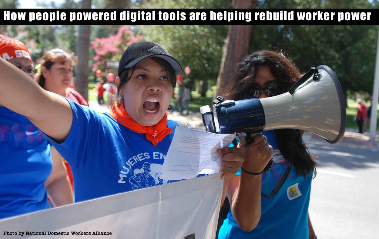 Digital worker organising