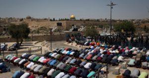 Prayer Protest East Jerusalem
