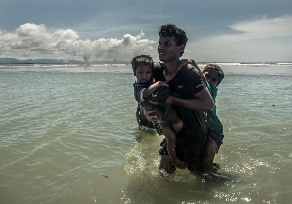 Rohingya Refugees. Tommy Trenchard, Caritas/CAFOD, September 2017.