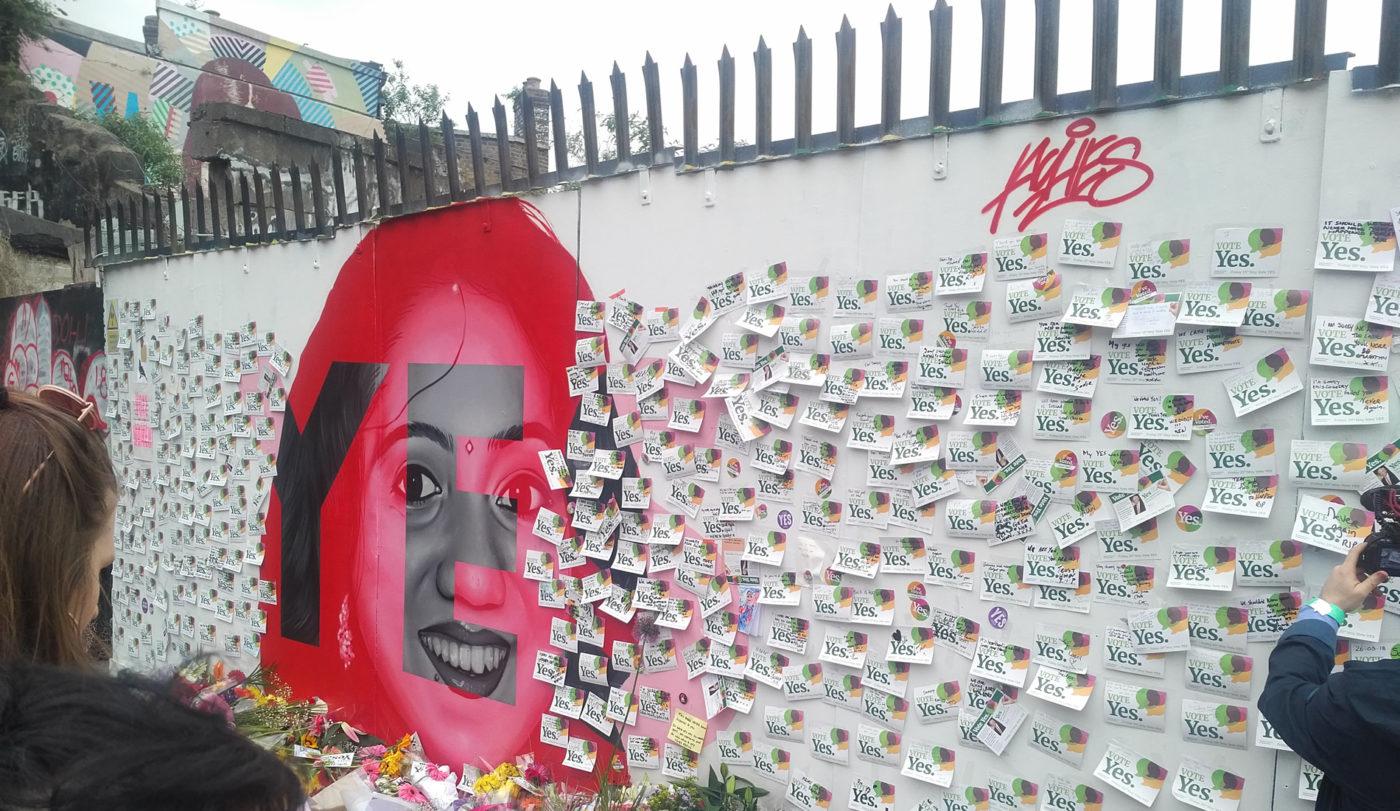 Savita Halappanavar mural Dublin Ireland