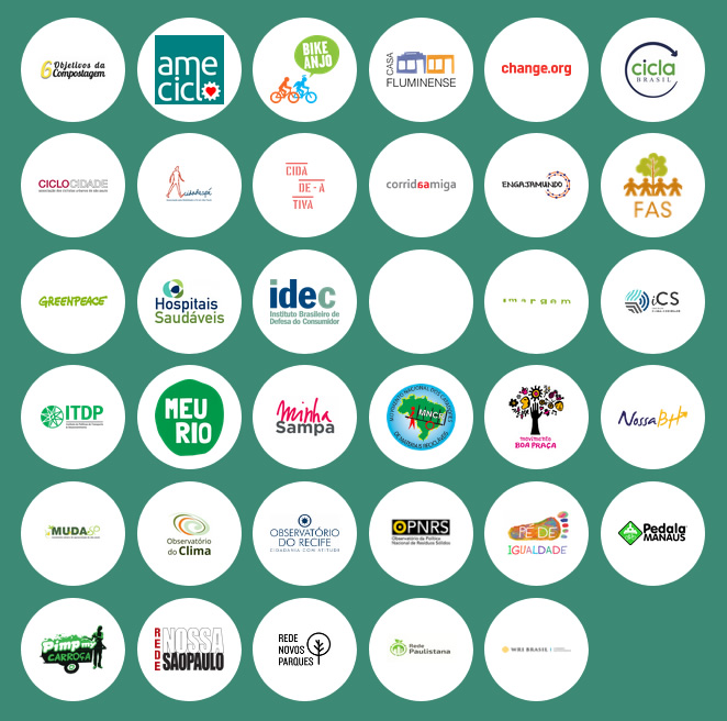Logos of convening partners participating in City of Dreams.