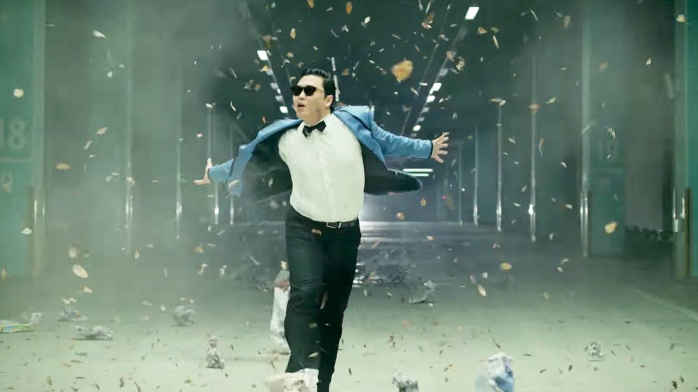 Psy does it Gangnam Style