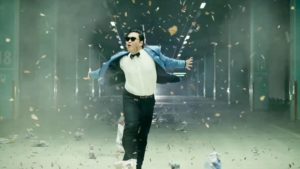 Psy does it Gangnam Style
