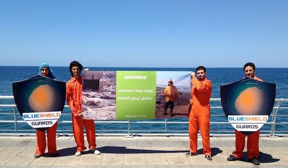 Citizens expose toxic pollution along Lebanon's coast