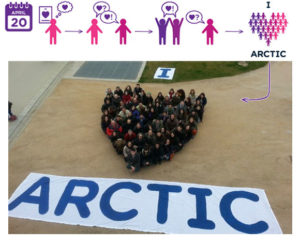 I heart the Arctic human banner