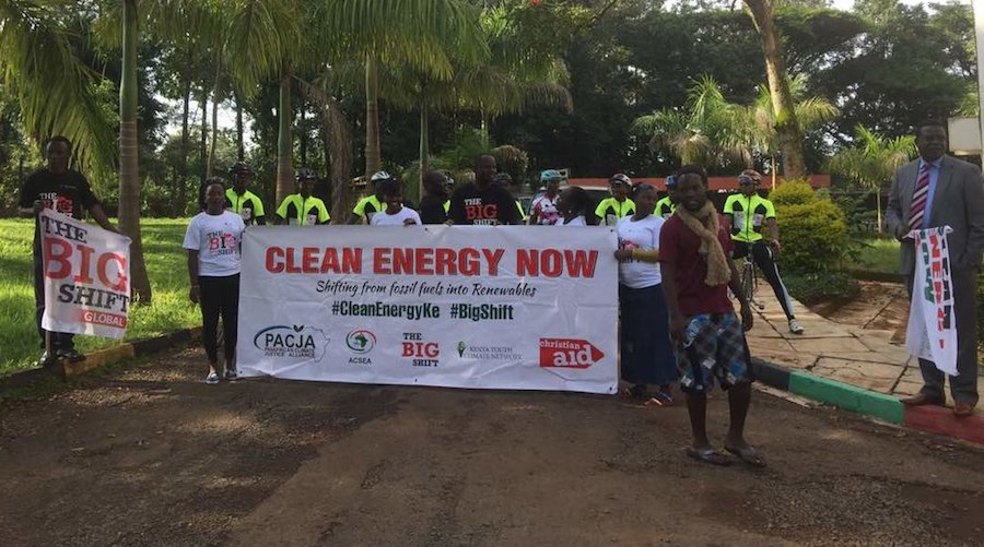 Clean Energy Now Cycling Caravan