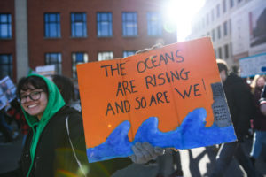 Netherlands youth climate march